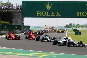 F1 Hungarian GP - Race Results