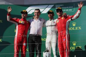 Hamilton: Mercedes must profit 'when Ferrari don't bring A game'