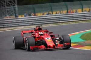 Vettel leads Ferrari 1-2 in close-fought Spa FP3