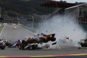 Verstappen: Halo reaction after Belgian GP crash was too dramatic