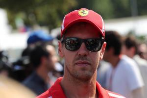 Vettel fastest despite Parabolica spin in Monza FP2