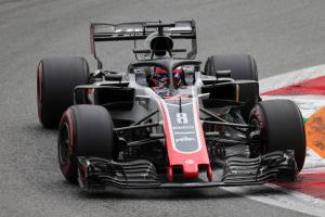 Renault submit protest on Grosjean's Haas