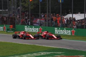 Vettel sees no reason for team orders at Ferrari