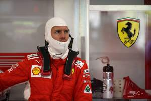 Vettel: No reason to panic after FP2 setback
