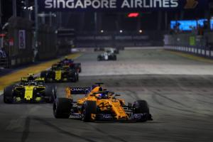 Alonso: P7 'a small win' for McLaren in Singapore