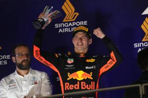 Verstappen happy with 'maximum' P2 amid engine issues
