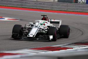 Giovinazzi feeling calmer in F1 car after Sauber confirmation