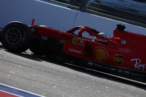 Vettel surprised by gap to Mercedes in Russia qualifying