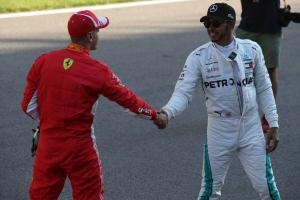 Hamilton: Mercedes applied the pressure to crack Ferrari