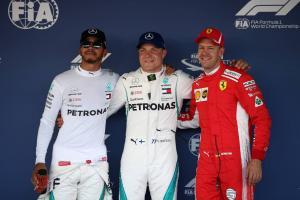 F1 Russian GP - Starting Grid