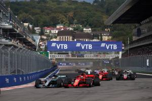 F1 Russian GP - Race Results