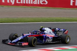 Gasly nears F1 grid penalty after Japan reprimand