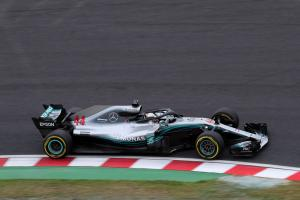 Hamilton completes Japan F1 practice sweep in FP3