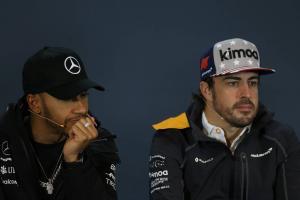Alonso happy for Hamilton's 'impressive' F1 success