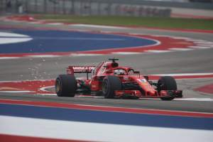 Vettel: Shame to miss pole, happy Ferrari are back