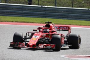 Vettel 'getting tired' of recovery drives after US GP clash