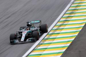 Hamilton seals 10th pole of year in Brazil, Vettel under investigation
