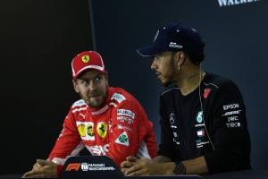 Hamilton grateful for Vettel battle in F1 2018