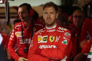 Vettel: Ferrari won't suffer in Kvyat, Giovinazzi simulator exits