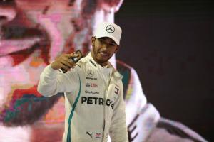 Hamilton wins F1 drivers' vote for best of 2018