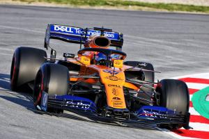 Sainz 'very cautious' about headline F1 test time