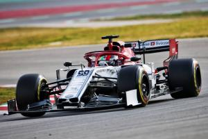 Barcelona F1 Test 1 Times - Tuesday 1pm