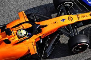 Norris on top as McLaren investigates second track stop