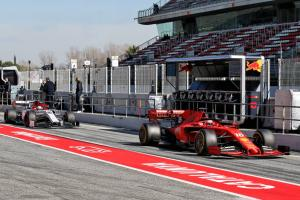 Barcelona F1 Test 2 Times - Thursday 1pm