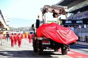 Ferrari ends F1 testing early with electrical issue