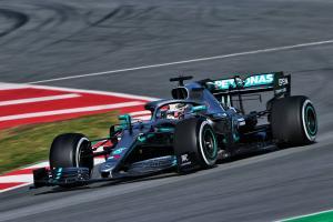 "Hamilton lauds Mercedes' ""most positive"" day"