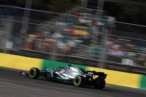 Hamilton closes out Australian GP practice fastest