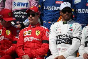 Hamilton on mental edge over Vettel: You have to ask him