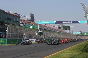 F1 Australian GP - Race Results