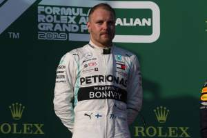 Bottas dedicates Australian GP win to Whiting