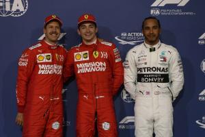 Hamilton, Vettel sympathetic to Leclerc after qualifying crash