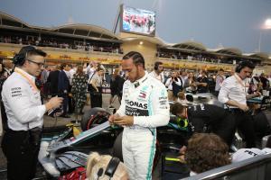 Hamilton: Mercedes underperformed but got lucky