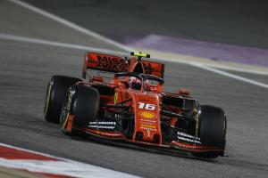 Ferrari investigating Leclerc engine cylinder problem