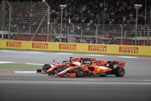Leclerc careful in 'sending it' with Vettel overtake