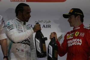 Hamilton had 'weird feeling' passing limping Leclerc