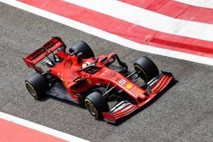 Vettel fastest from Stroll on morning of day two at Bahrain test