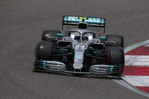 Bottas edges Hamilton for Chinese GP pole