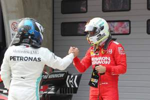 Bottas names Vettel as biggest threat to Mercedes