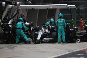 Wolff explains Mercedes' 'proud' double-stack pit stop