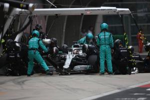 Wolff explains Mercedes' 'proud' double-stack pit stop