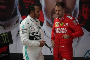 Hamilton paying no attention to Vettel points gap