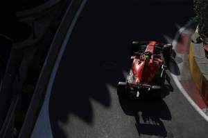Ferrari drivers confident of Mercedes threat in Baku