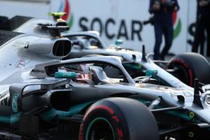 F1 Azerbaijan Grand Prix - Starting Grid