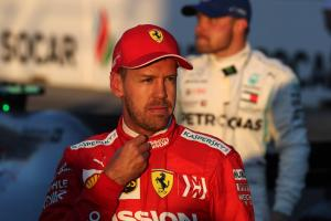 Vettel: Mercedes' F1 qualifying pace becoming a 'trend'