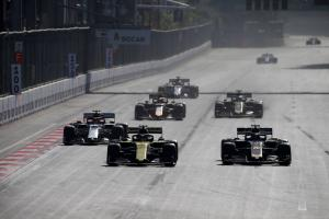 F1 Driver Ratings - Azerbaijan Grand Prix
