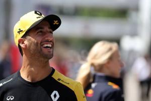 Ricciardo not discouraged despite Renault being behind trajectory
